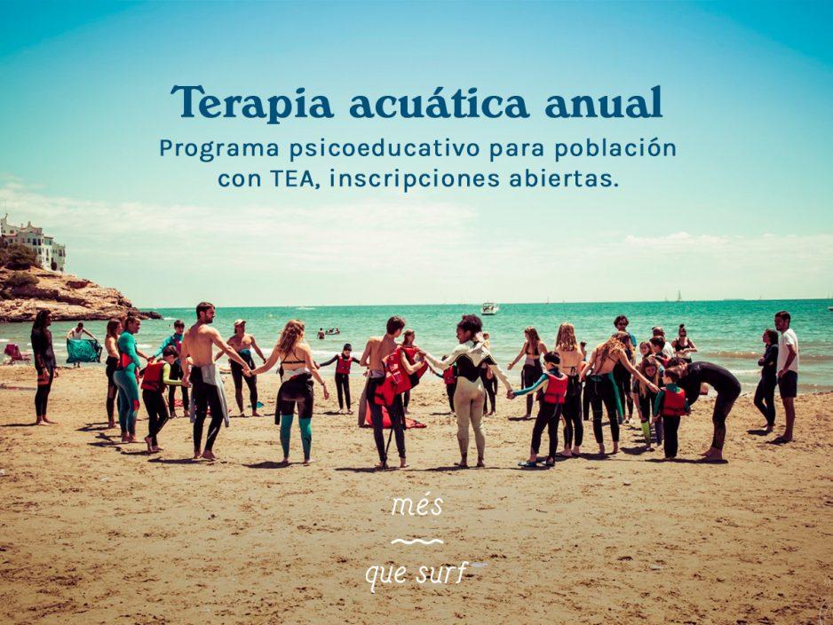 Nuevo proyecto: Terapia acuática anual